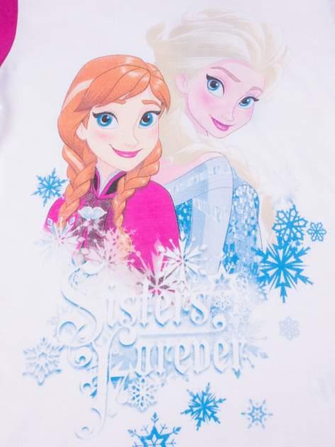 Fuksjowa piżama dla dziewczynki KRAINA LODU                                  zdj.                                  6