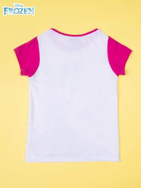 Fuksjowa piżama dla dziewczynki KRAINA LODU                                  zdj.                                  3