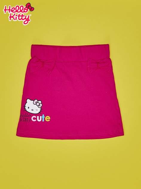 Fuksjowa spódnica dla dziewczynki HELLO KITTY                                  zdj.                                  1