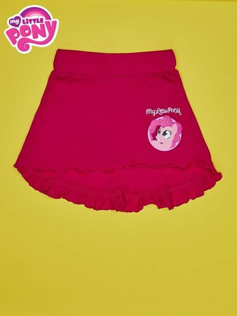 Fuksjowa spódnica z falbanami dla dziewczynki MY LITTLE PONY                                  zdj.                                  1