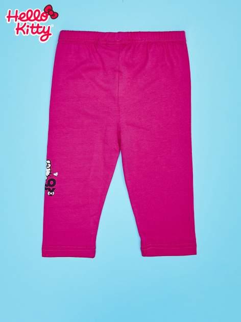 Fuksjowe legginsy dla dziewczynki HELLO KITTY                                   zdj.                                  2