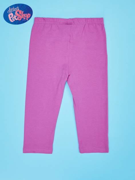 Fuksjowe legginsy dla dziewczynki LITTLEST PET SHOP                                  zdj.                                  2