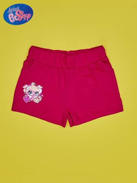 Fuksjowe szorty dla dziewczynki LITTLEST PET SHOP                                  zdj.                                  1
