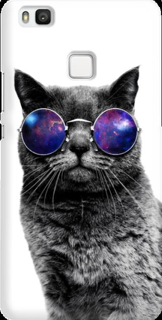 Funny Case ETUI HUAWEI P9 LITE CAT