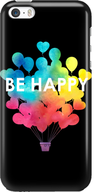 Funny Case ETUI IPHONE 5G BE HAPPY