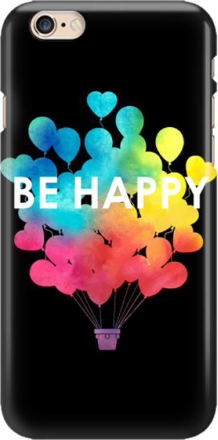 Funny Case ETUI IPHONE 6G BE HAPPY