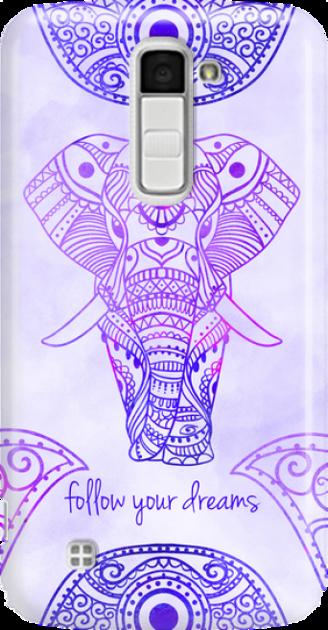 Funny Case ETUI LG K10 ELEPHANT