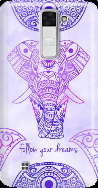 Funny Case ETUI LG K8 ELEPHANT