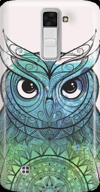 Funny Case ETUI LG K8 OWL