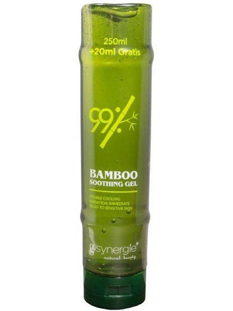 G-SYNERGIE Bamboo Żel do pielęgnacji twarzy, ciała i włosów bambusowy 250 ml