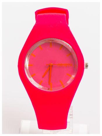 GENEVA Damski zegarek silikonowy. Bardzo wygodny. Idealny na lato!
