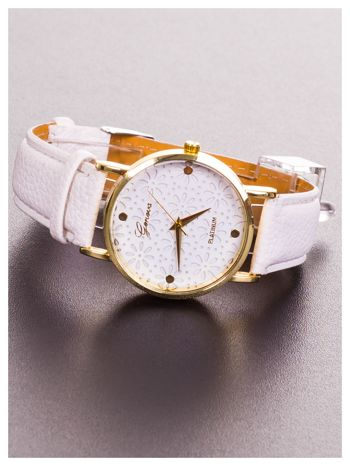 GENEVA Damski zegarek z ażurową tarczą                                  zdj.                                  2