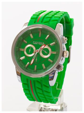 GENEVA Zielony zegarek męski MILITARY                                  zdj.                                  2