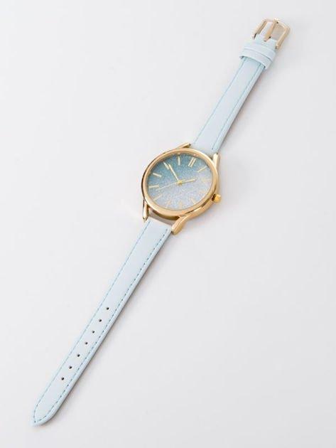 GLITTER OMBRE błekitny zegarek damski                              zdj.                              3