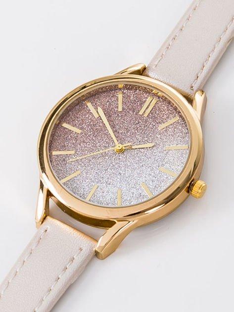 GLITTER OMBRE złoty zegarek damski                              zdj.                              2