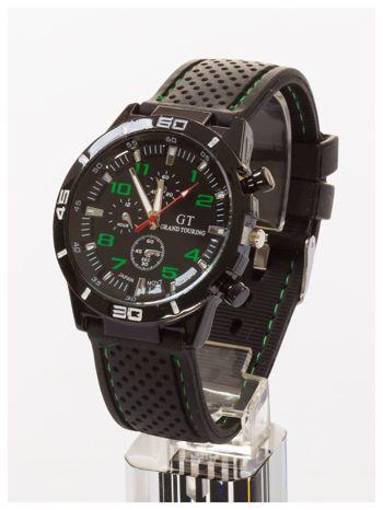 GT Czarno-zielony sportowy zegarek męski GRAND TOURING                                  zdj.                                  2