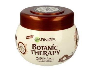 Garnier Botanic Therapy Maska do włosów suchych i bez sprężystości Mleko Kokosowe & Makadamia  300 ml