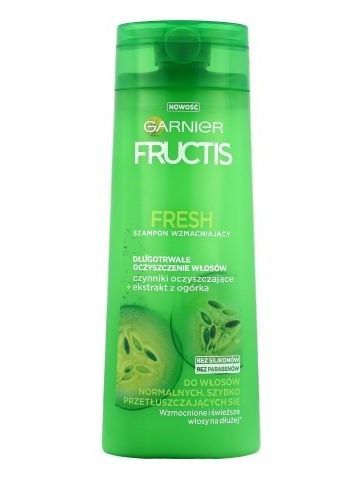 Garnier Fructis Szampon wzmacniający do włosów normalnych i przetłuszczających się Fresh  400 ml