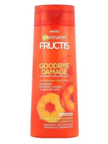 Garnier Fructis Szampon wzmacniający do włosów zniszczonych Goodbye Damage 250 ml