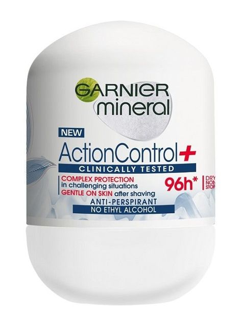 Garnier Mineral Antyperspirant roll-on Action Control+ Clinically 96h 50 ml