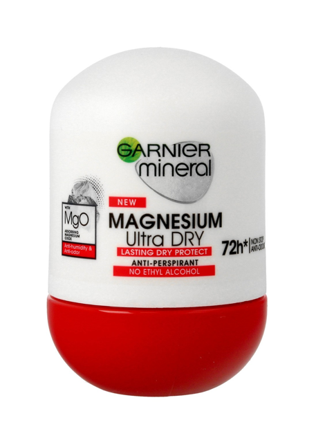 "Garnier Mineral Dezodorant roll-on 72H Magnesium Ultra Dry  50ml"""