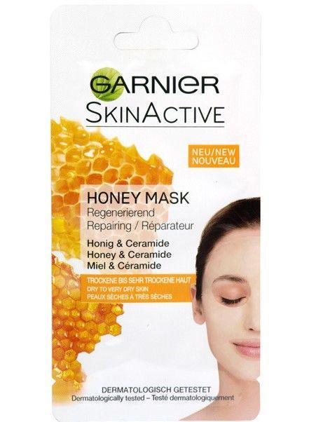 Garnier Skin Active Maska do twarzy z miodem Honey - cera bardzo sucha  8 ml