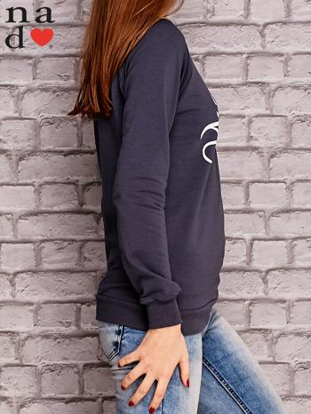 Grafitowa bluza z napisem MAM FOCHA                                  zdj.                                  3
