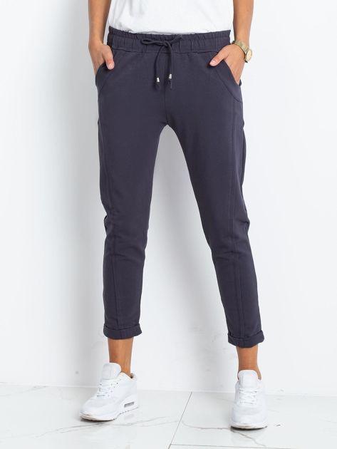 Grafitowe spodnie Approachable                              zdj.                              1