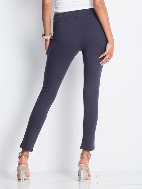 Grafitowe spodnie dresowe Defined                              zdj.                              3