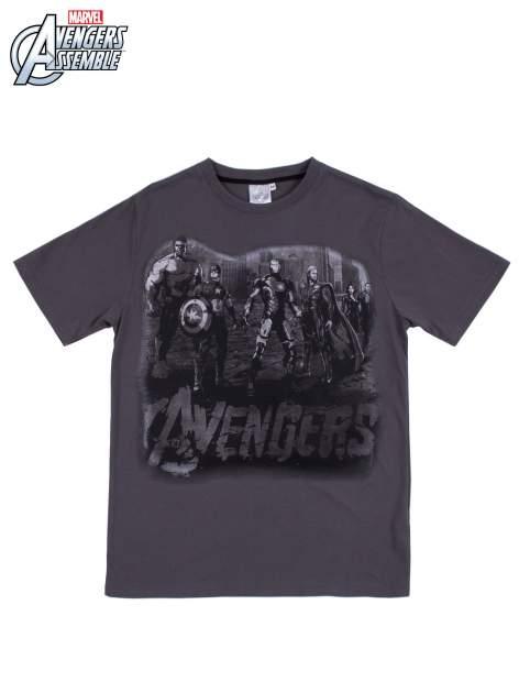 Grafitowy t-shirt męski AVENGERS                                  zdj.                                  8