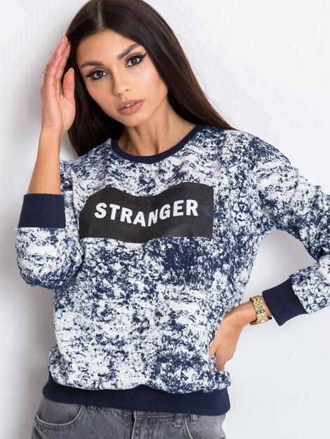Granatowa bluza Stranger