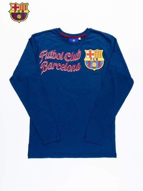 Granatowa bluzka męska FC BARCELONA                                  zdj.                                  12