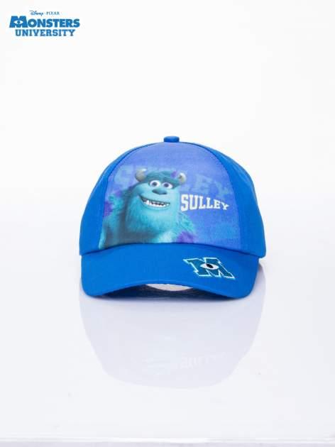 Granatowa chłopięca czapka z daszkiem UNIWERSYTET POTWORNY                                  zdj.                                  1
