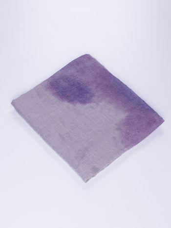 Granatowa chusta z efektem ombre                                  zdj.                                  2