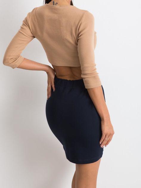 Granatowa spódnica Increasingly                              zdj.                              2
