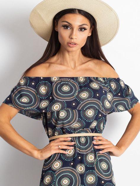 Granatowa sukienka Faraway                              zdj.                              6