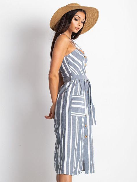 Granatowa sukienka Legitimately                              zdj.                              3
