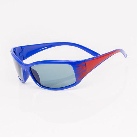 Granatowe Dziecięce Okulary przeciwsłoneczne                              zdj.                              2