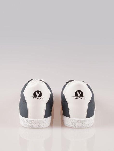 Granatowe buty sportowe w stylu casual Kash                                  zdj.                                  3