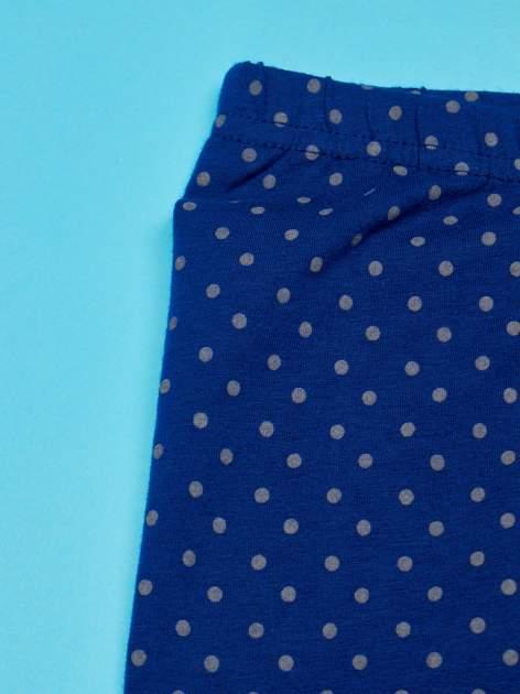 Granatowe legginsy dla dziewczynki FURBY                                  zdj.                                  3