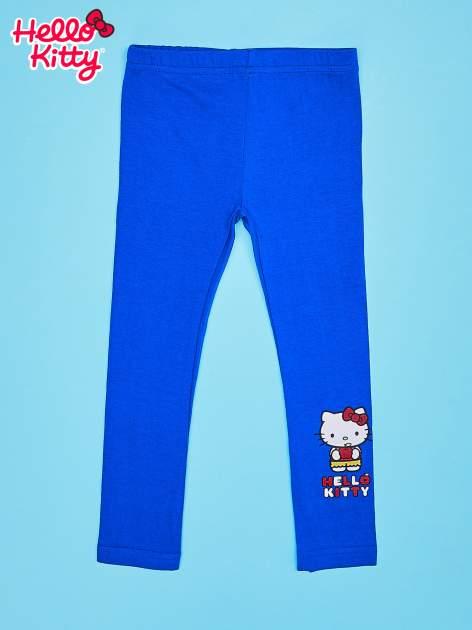 Granatowe legginsy dla dziewczynki HELLO KITTY