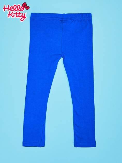 Granatowe legginsy dla dziewczynki HELLO KITTY                                  zdj.                                  2
