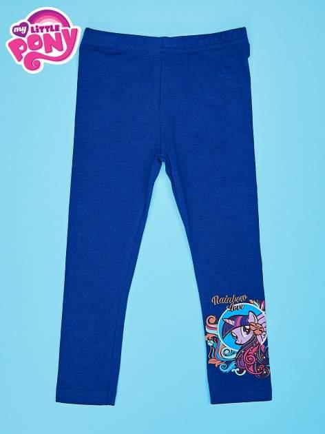 Granatowe legginsy dla dziewczynki MY LITTLE PONY