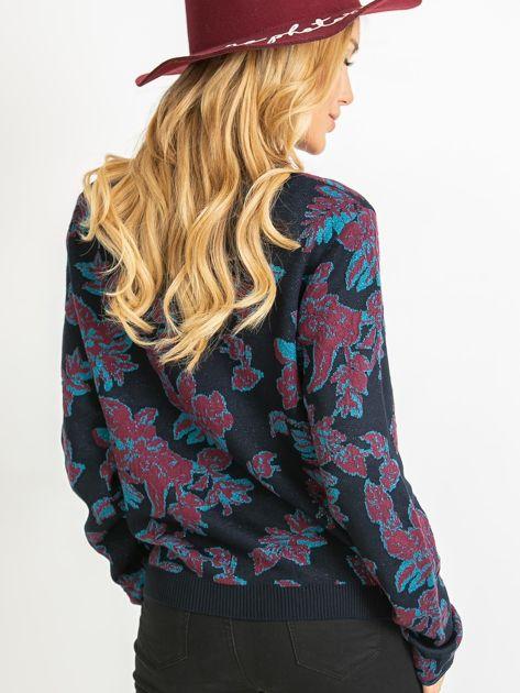 Granatowy sweter Miley                              zdj.                              2