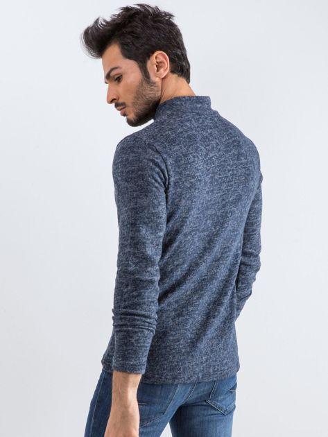 Granatowy sweter męski Allow                              zdj.                              2