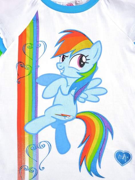 Granatowy t-shirt dla dziewczynki MY LITTLE PONY                                  zdj.                                  4