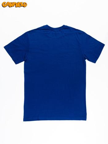 Granatowy t-shirt męski GARFIELD                                  zdj.                                  12