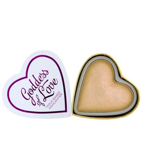 I Heart Makeup Blushing Hearts Rozświetlacz do twarzy Golden Goddess 10g