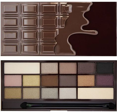 I Heart Revolution Death by Chocolate Palette Paleta 16 cieni do powiek 22g