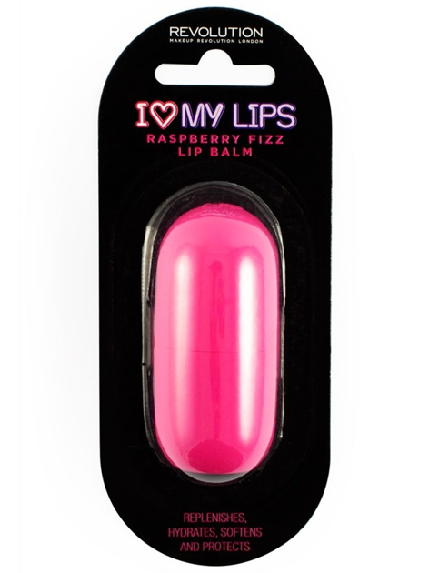 I Heart Revolution I ♡ My Lips Balsam do ust Raspberry Fizz (Malina) 6g